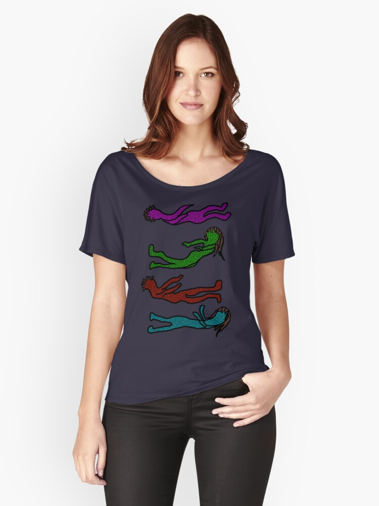 Risk it all Women's Relaxed Fit T-Shirt Front