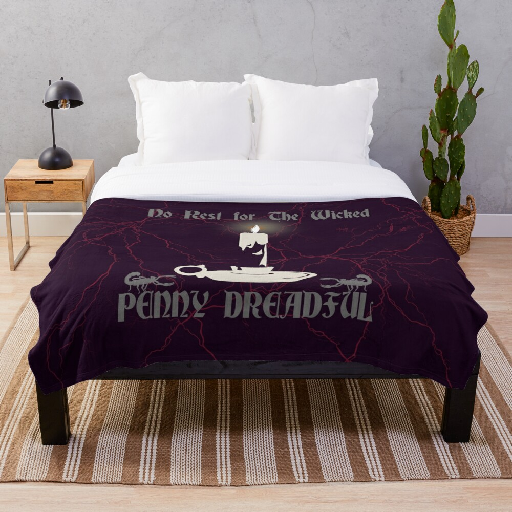 Penny Dreadful No rest for the wicked Throw Blanket