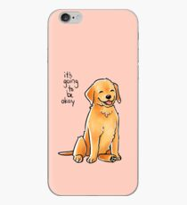 """It Will Be Okay"" Puppy iPhone Case"