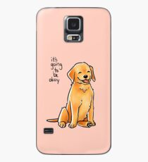 """It Will Be Okay"" Puppy Case/Skin for Samsung Galaxy"