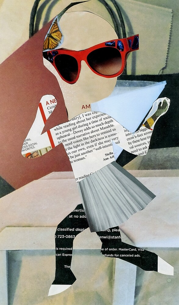 Holy Card for A Run[a]way Model by mmargot