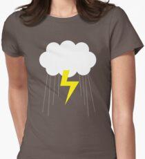 Rain Rain. Women's Fitted T-Shirt