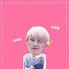 KPOP SEVENTEEN sticker set - Woozi(1) by yutong