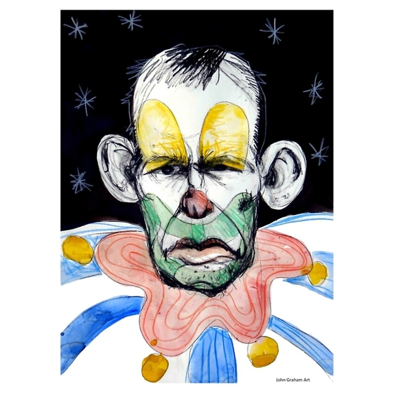 Image result for Image of Tony Abbott as a clown