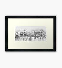 Battleground - Heinz Field Framed Print