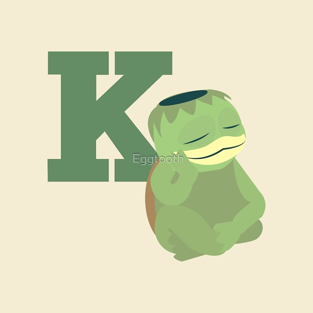 K is for Kappa by Eggtooth