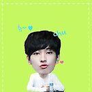 KPOP SEVENTEEN sticker set - Wonwoo by yutong