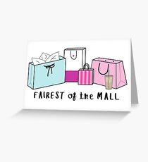 Fairest of the Mall ♥ Trendy/Hipster/Tumblr Meme Greeting Card