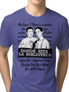 La Biblioteca   Community Tri-blend T-Shirt