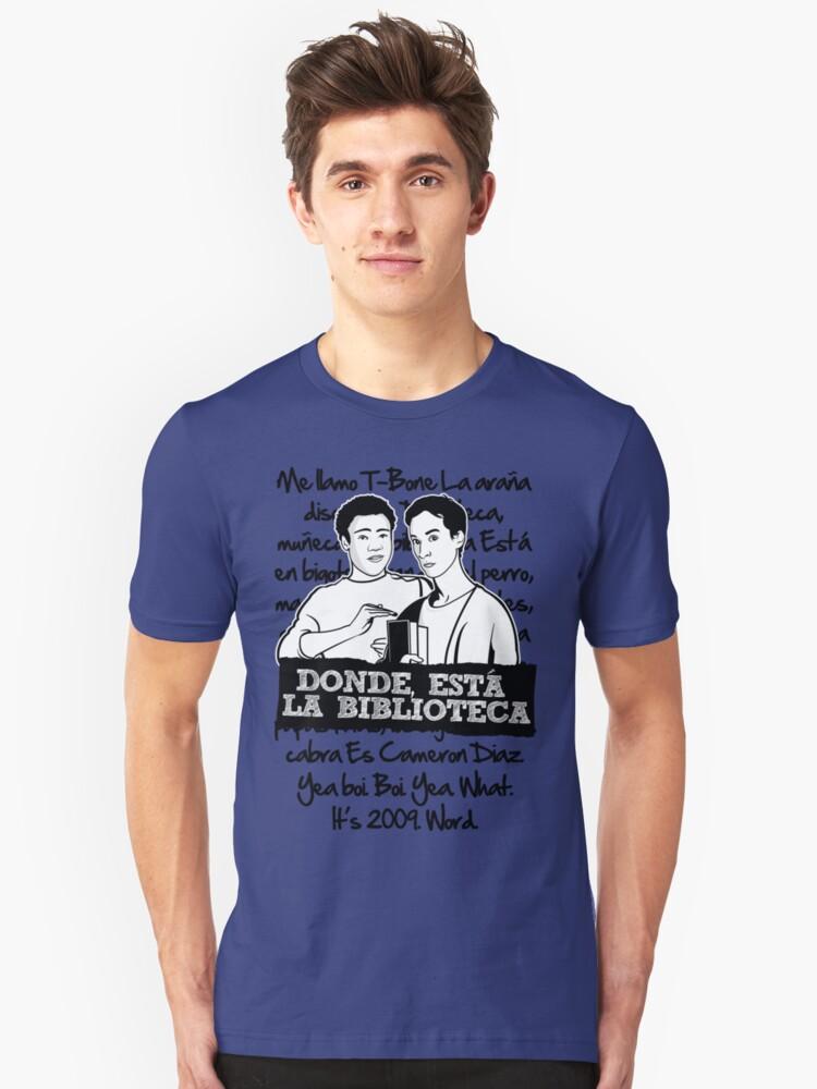 La Biblioteca | Community Unisex T-Shirt Front