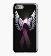 Breast Cancer Awareness Support The Cure iPhone Case/Skin