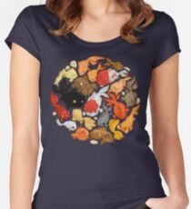 For The Love Of Goldfish Women's Fitted Scoop T-Shirt