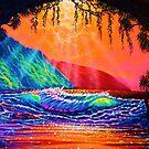 Lava Tube Fantasy in Gold by jyruff