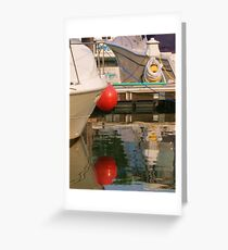 red bubble Greeting Card