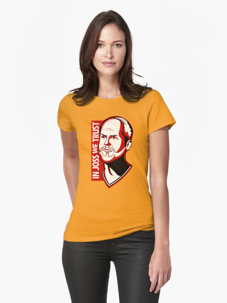 In Joss We Trust Womens T-Shirt Front