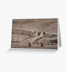 Piper Cub NC88073 Greeting Card
