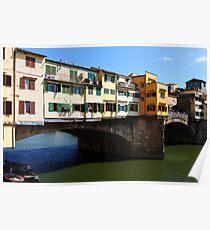 Ponte vecchio, Florence Poster