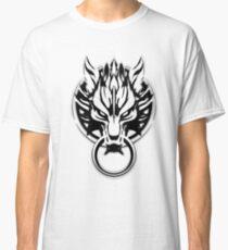 Cloud Strife's Wolf Emblem (Black) Classic T-Shirt