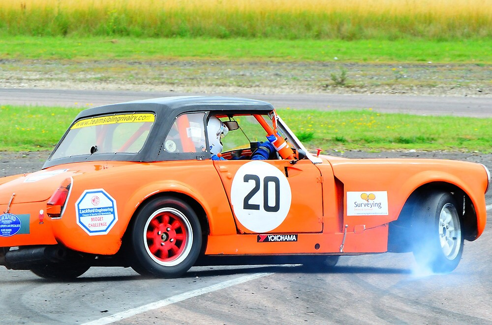 MG Midget 1380cc modified by Willie Jackson