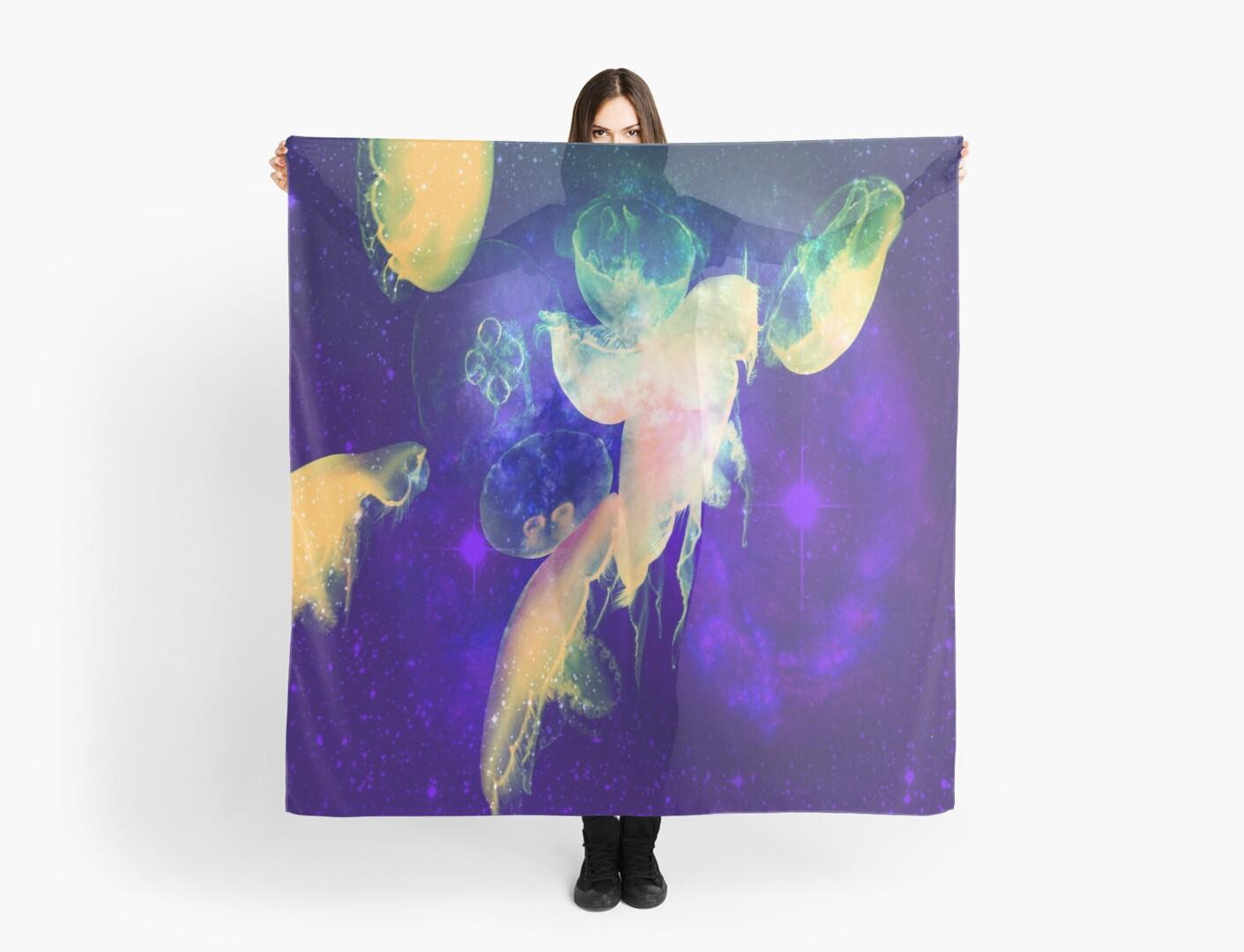 Iridescent Jellyfish by indigorayz