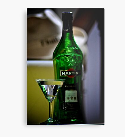 Martini Sir and Madam: On featured: http:#1-artists-of-redbubble Group 2.The-artistic-libation Group Metal Print
