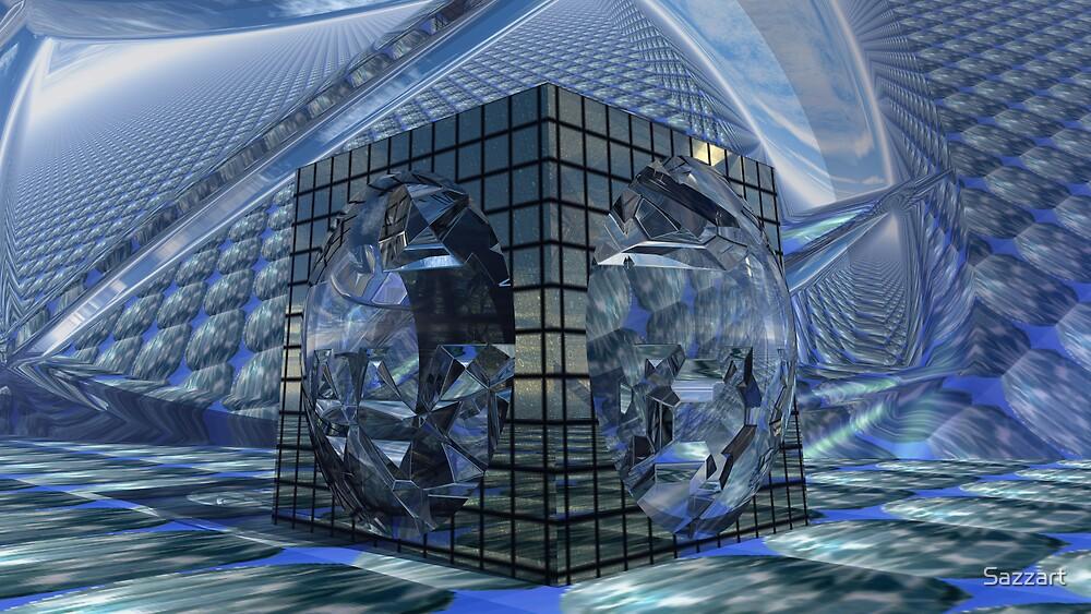 Tessellation Dissolution  by Sazzart