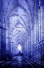 Minster in Blue by Svetlana Sewell