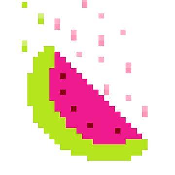 Juicy PixaMelon  by TheSharkFalcon