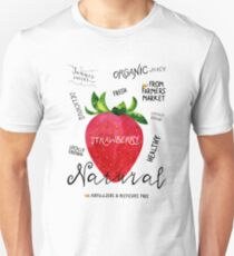 Watercolor strawberry T-Shirt
