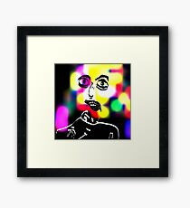 Set The Controls for The Heart Of The Sun Framed Print