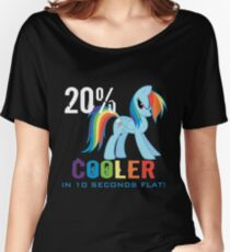 20% cooler in 10 seconds flat! Ladies Women's Relaxed Fit T-Shirt
