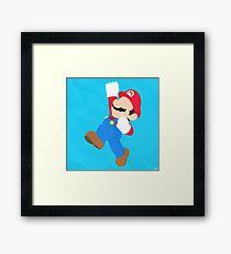Mario (Simplistic) Framed Print