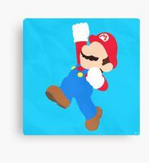 Mario (Simplistic) Canvas Print