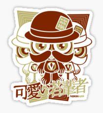 Victorian Mascot Stencil Sticker
