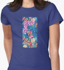 Orchid Splash Women's Fitted T-Shirt
