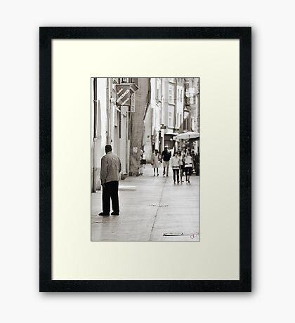 Ev'ry Day I'm Shuffalin' Framed Print