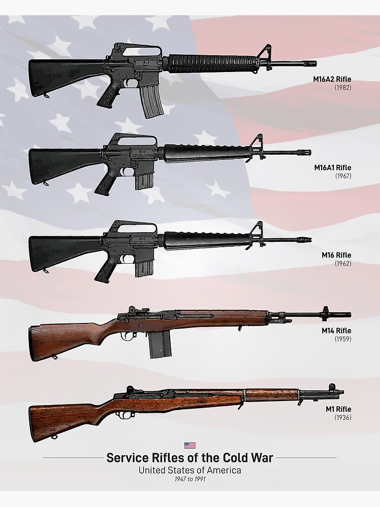 Cold War Service Rifles of the United States by nothinguntried