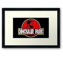 Sanspants Radio - Dinosaur Park Framed Print