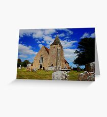 St Clement, Old Romney Greeting Card