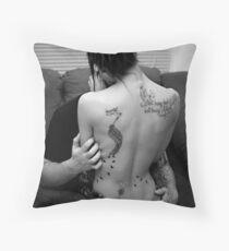Tattoo Love Throw Pillow