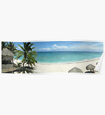Day on the beach - Akumal, Mexico Poster