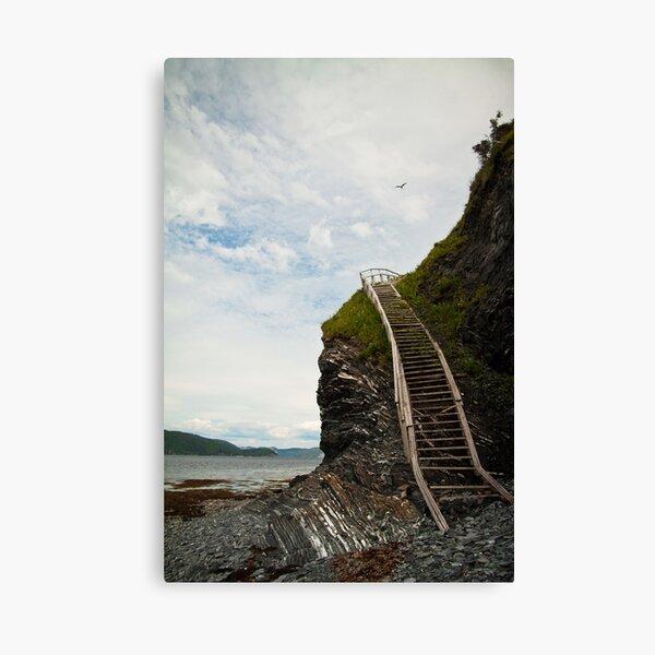 Edge of the Earth - Cox's Cove  Canvas Print