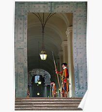 Vatican City Guards Poster