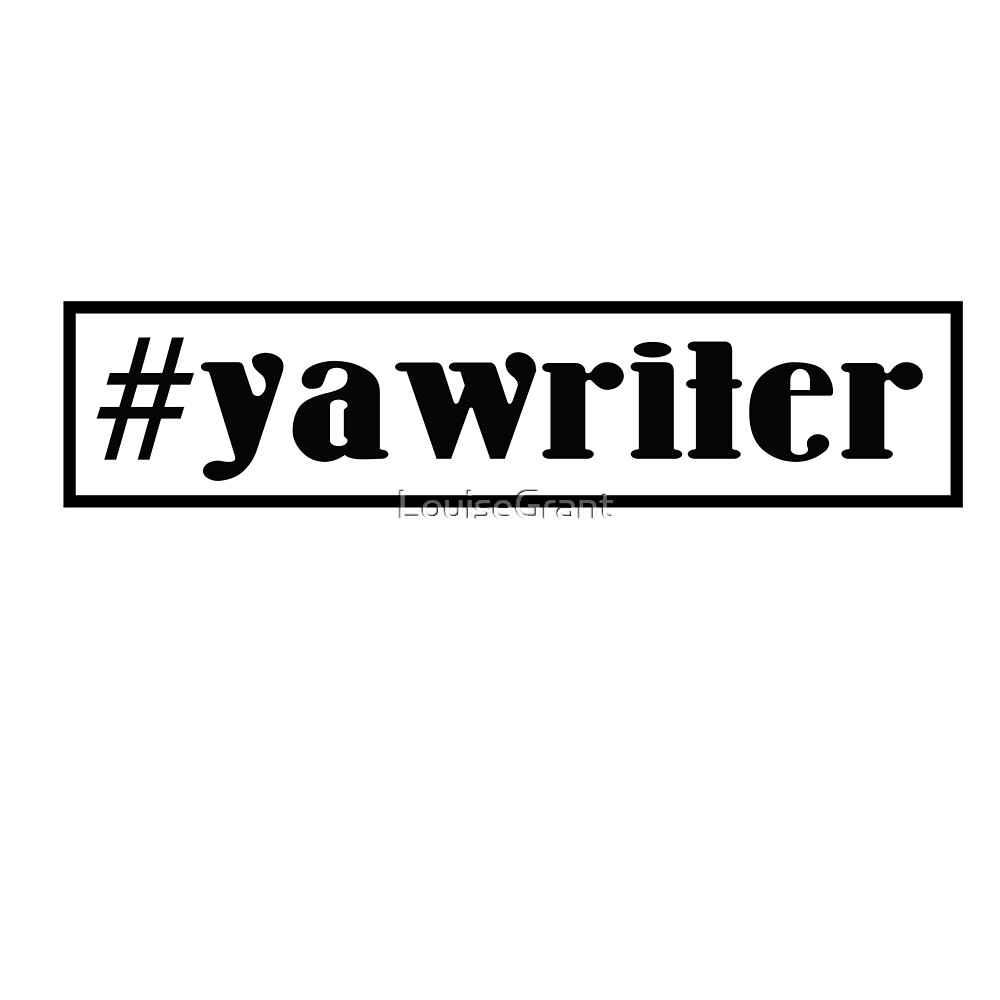 #yawriter black with black border by LouiseGrant