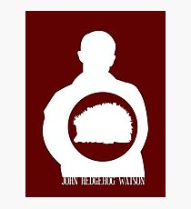 John Hedgehog Watson Photographic Print