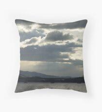Evening Sky, Hobart, Tasmania Throw Pillow