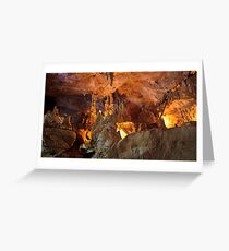 Abercrombie caves # Greeting Card
