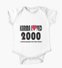 karma loved 2000 One Piece - Short Sleeve