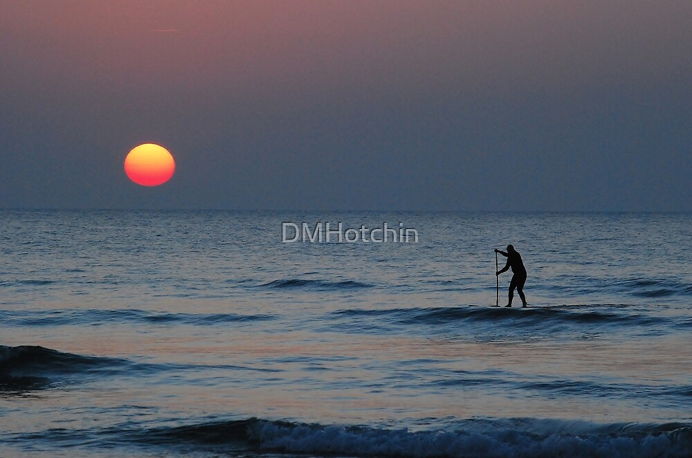 Paddle Board at Fistral by DMHotchin