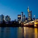 Frankfurt Blue Hour by MarkusWill